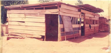 Rural Education Classroom for child